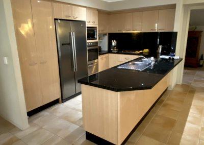 beige kitchen cupboard doors