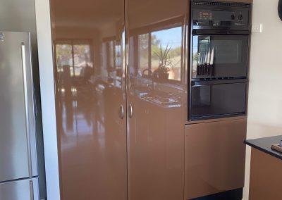 glossy pantry door